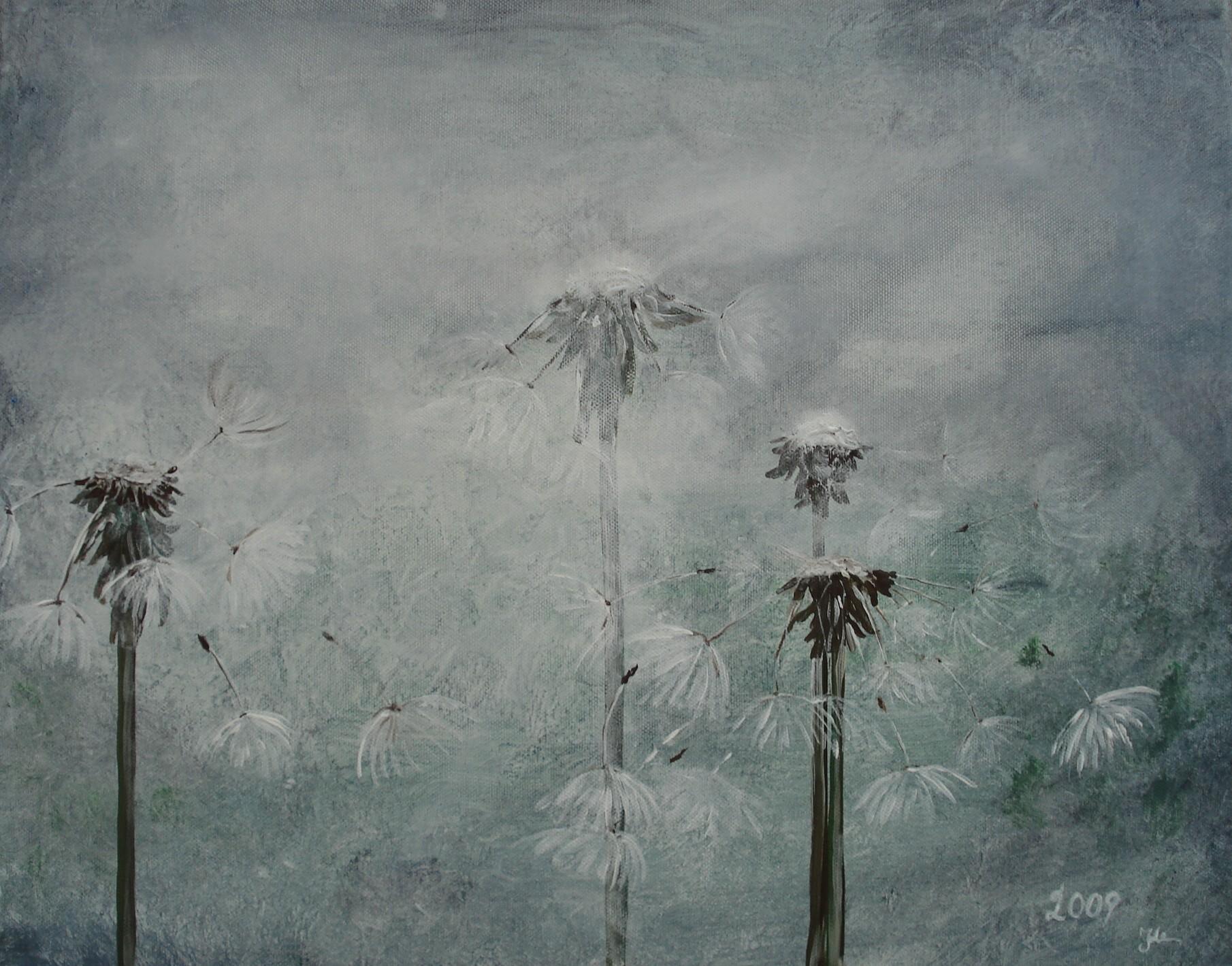 Pusteblume II / 50 x 40 cm