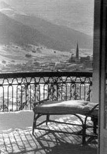 Balkon Waldsanatorium Davos