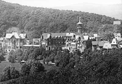 Lungenheilanstalt Falkenstein, um 1900, Stadtarchiv Königstein.