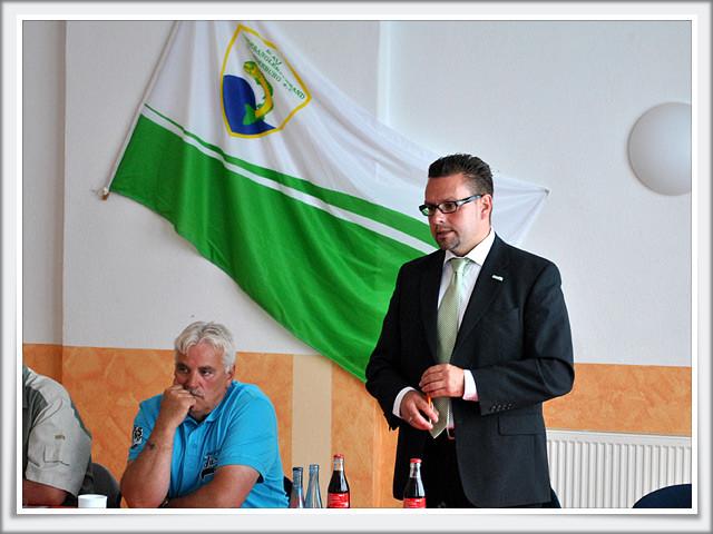 Bürgermeister Hendrik Sommer