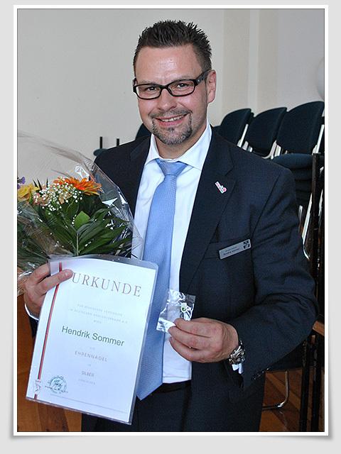 H. Sommer-Ehrennadel in Silber