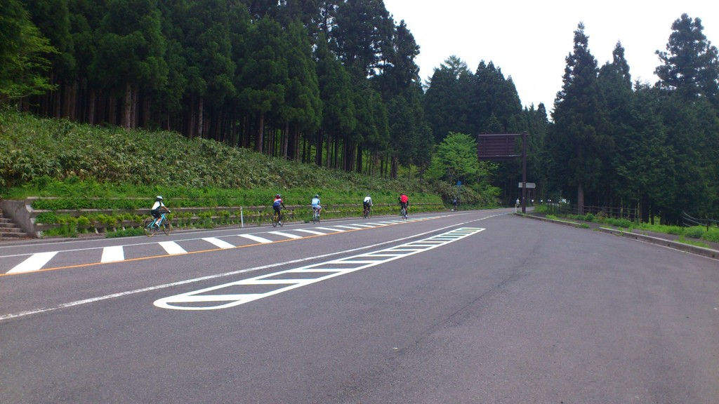27km地点、ココから先が・・・