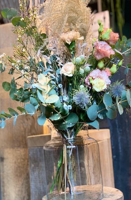 2  Winterfeeling 28 €, Vase 14,50 €