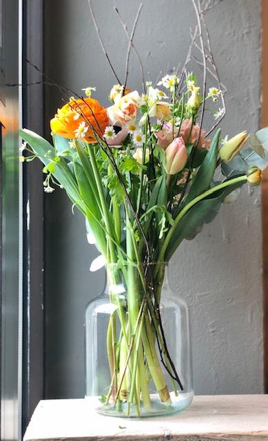 Frühlingserwachen – Vasenfüllung inklusive Vase 30€