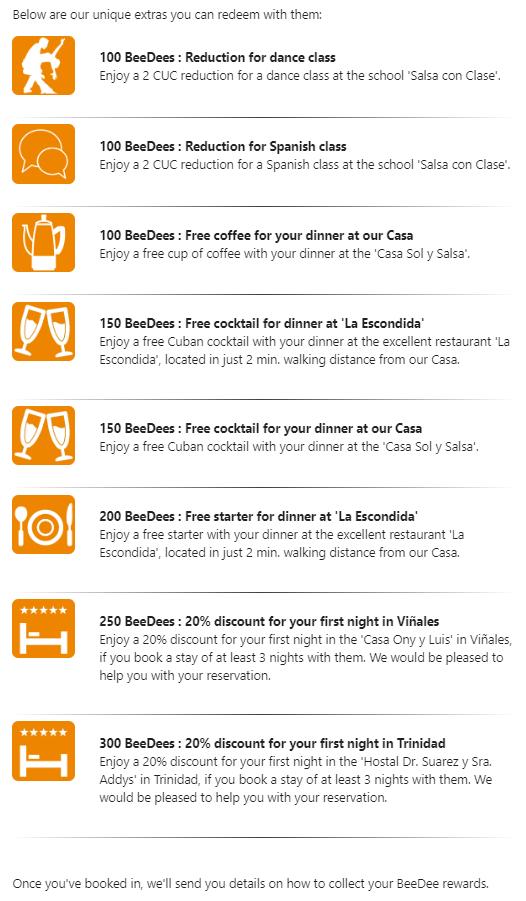 Overview BeeDee Rewards