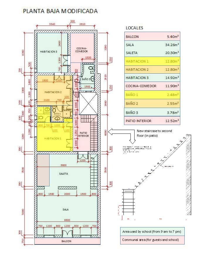 Plan of first floor