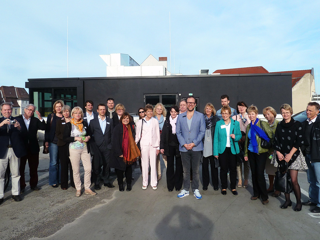 Die Kaiserdamm IG zu Besuch bei der BMW Niederlassung vor Ort.