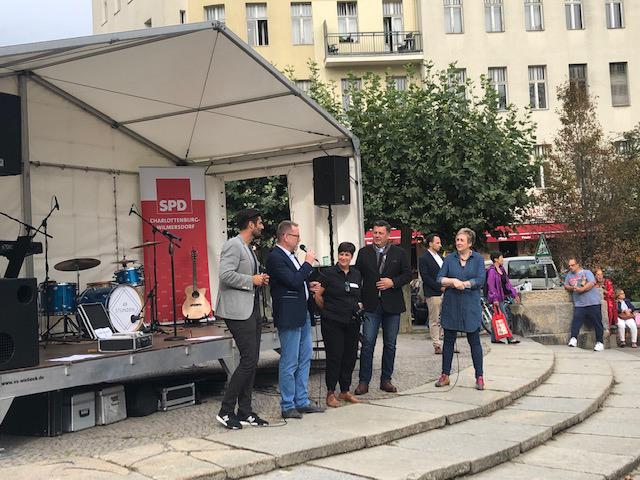 Veranstaltung auf dem Witzlebenplatz ©Kaiserdamm IG