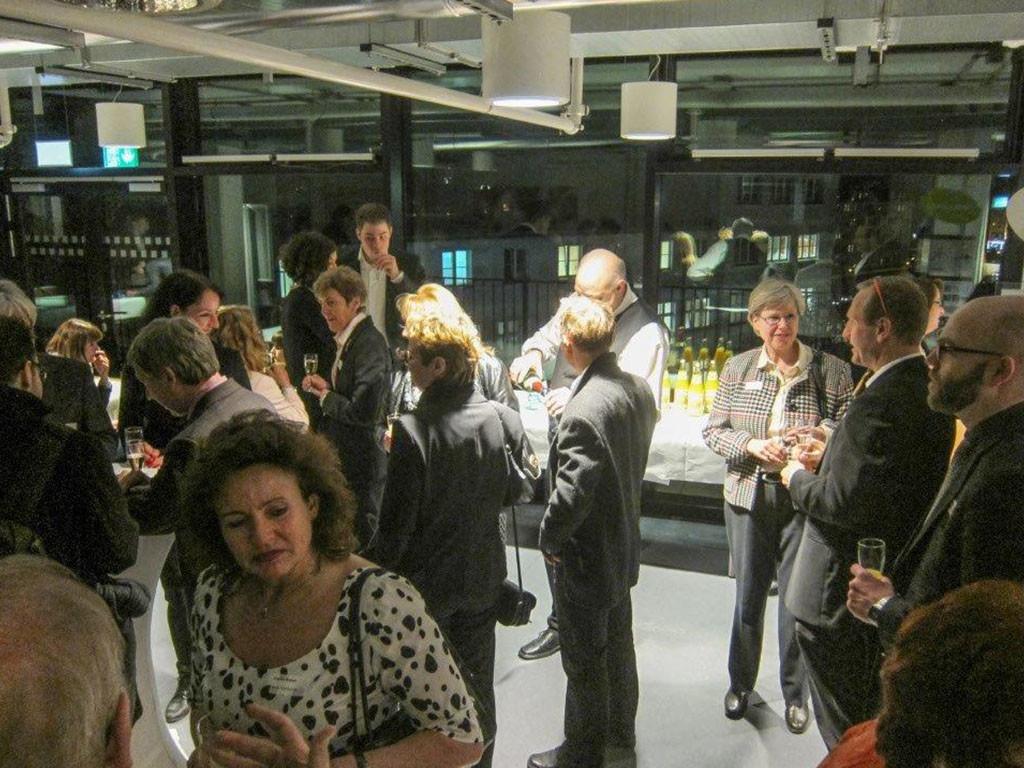 Etwa 90 Gäste des Neujahrsempfangs