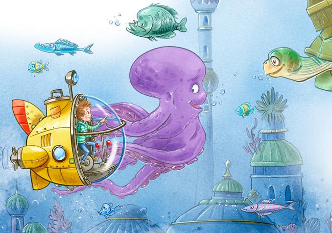 Die verborgene Unterwasser-Stadt...