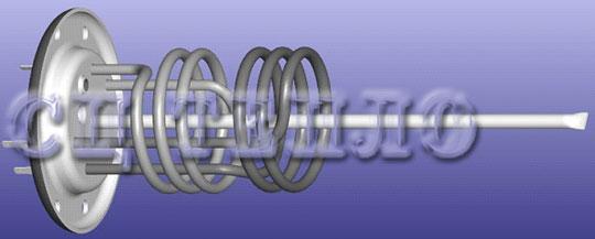 ТЭН Татрамат EO GL 5206/3   Фланец  3000 W  рр 22784951 (Модели с 2009 г.)
