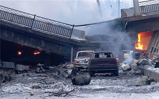 После боя на Донбассе...