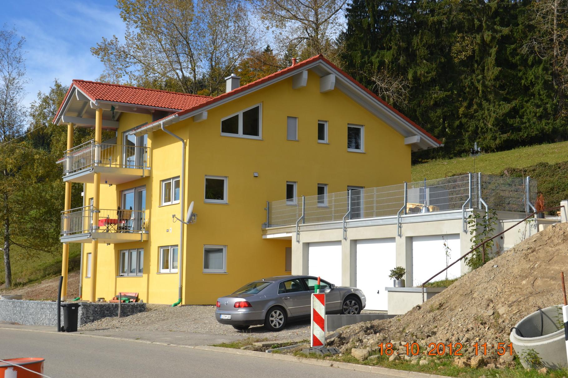 BV: Weitnau Schlüsselfertiges 3-Familienhaus