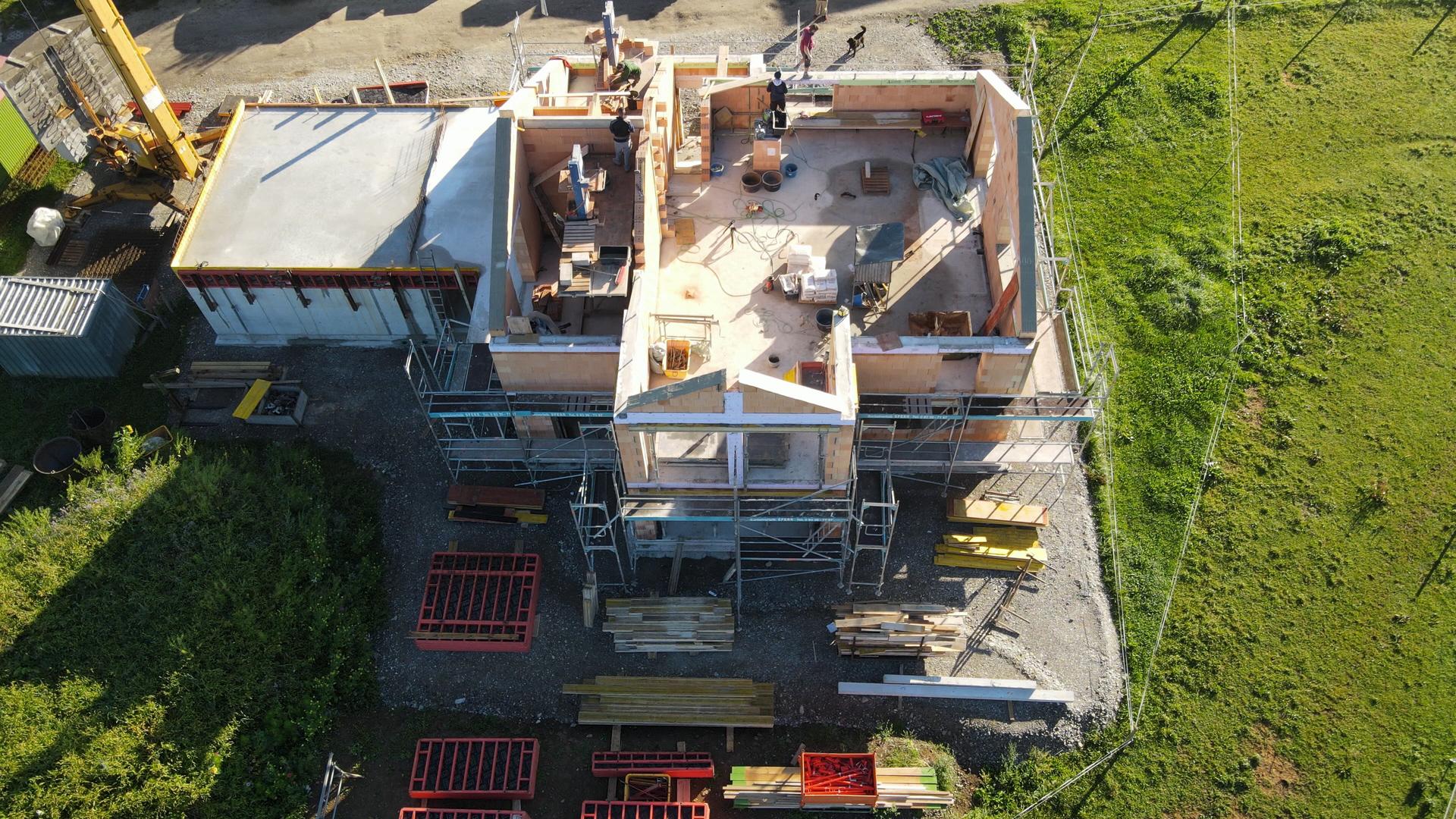 BV: Probstried Schlüsselfertiges Wohnhaus mit Doppelgarage ohne Keller