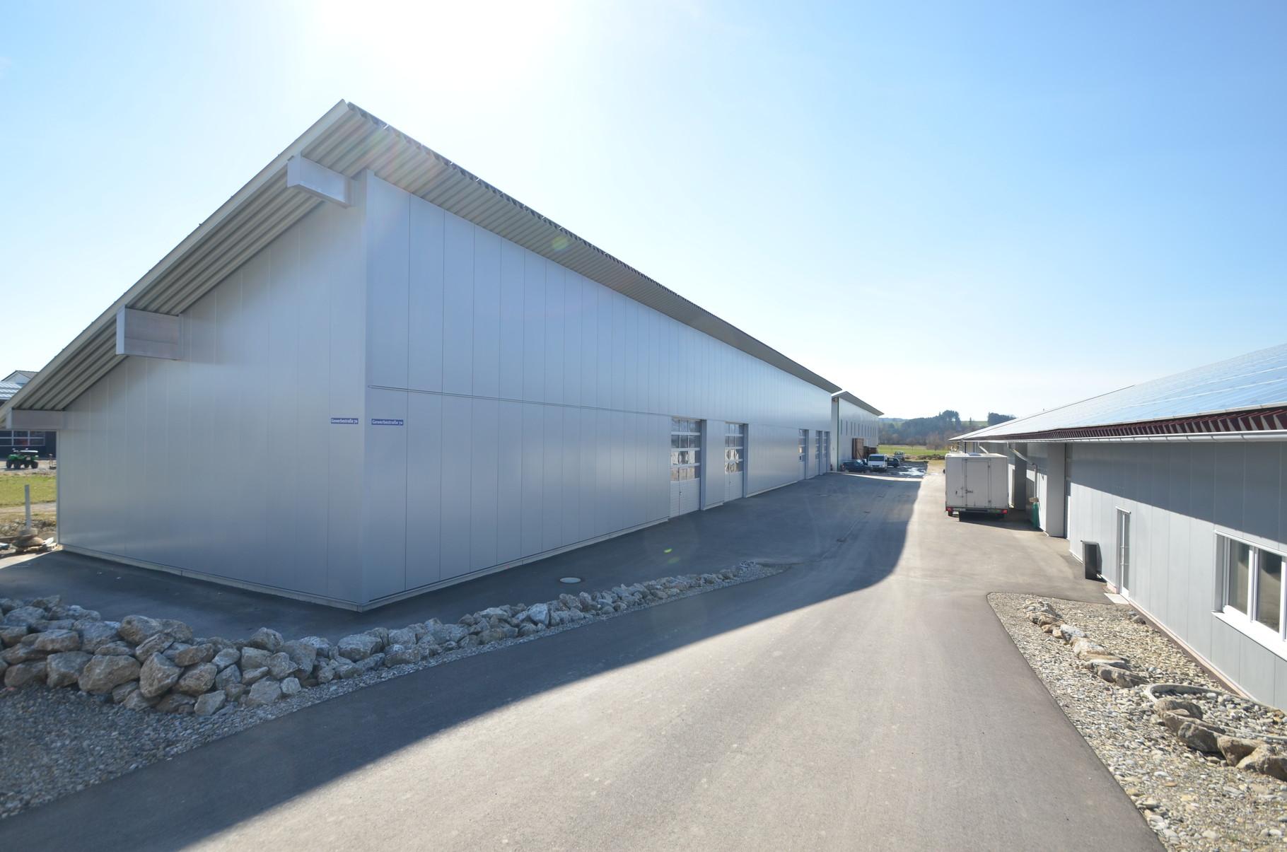 BV: Krugzell/Altusried Schlüsselfertige Fertigstellung zweier Lagerhallen