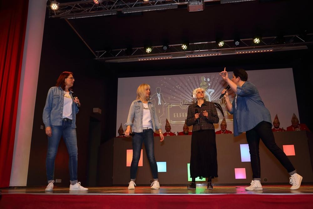 Sandra Jacquemin, Andrea Birnbach, Heike Segeth & Jasna Specht