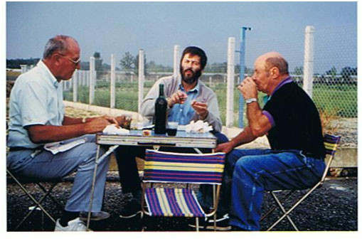 Amitié et convivialité, Maurice, Michel et Raymond
