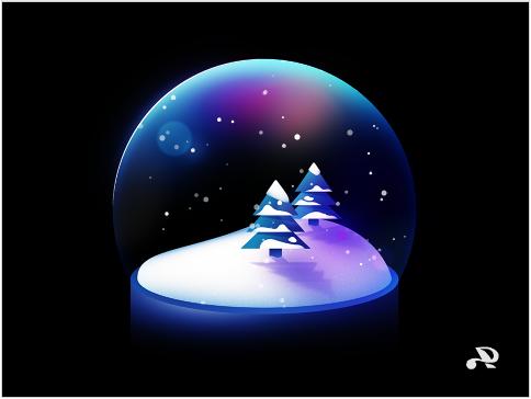 Snow Globe(Scratchにリンクしています)