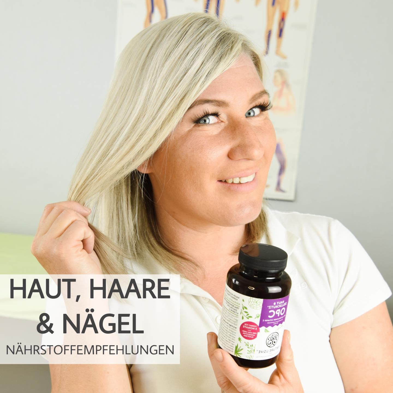 Haut, Haare & Nägel - Nährstoffempfehlungen