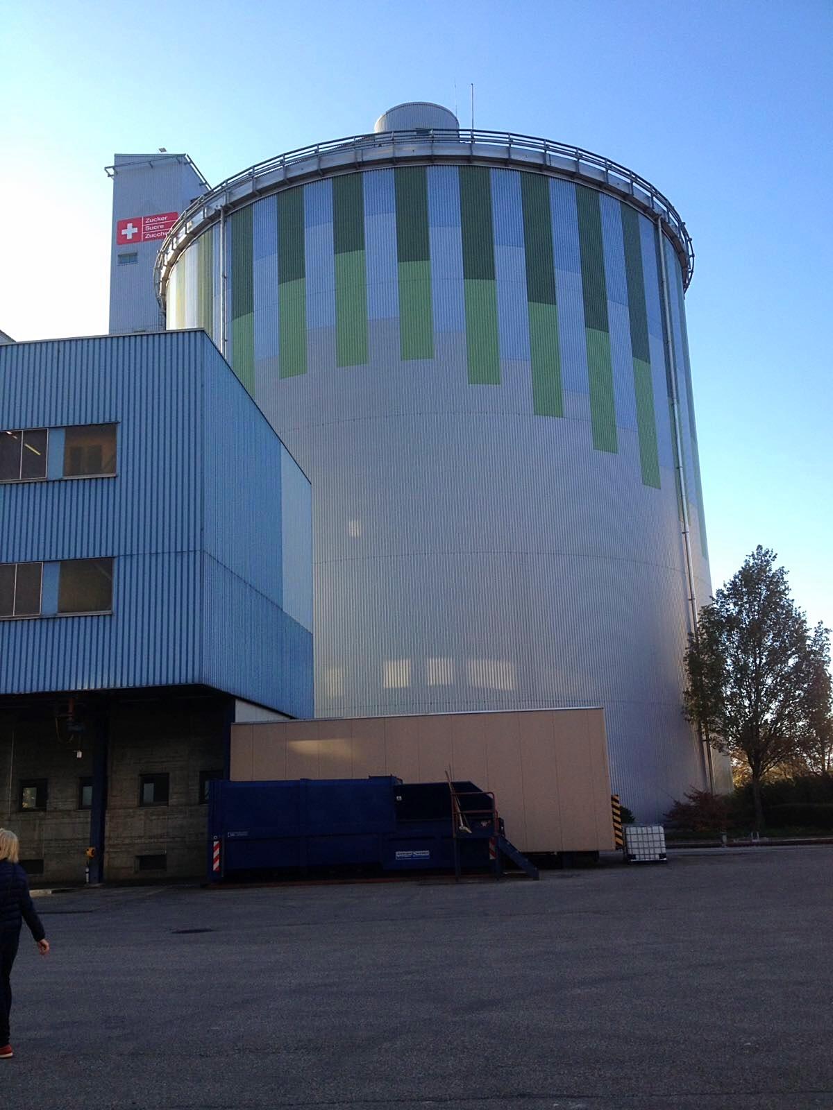 Besichtigung Zuckerfabrik Aarberg