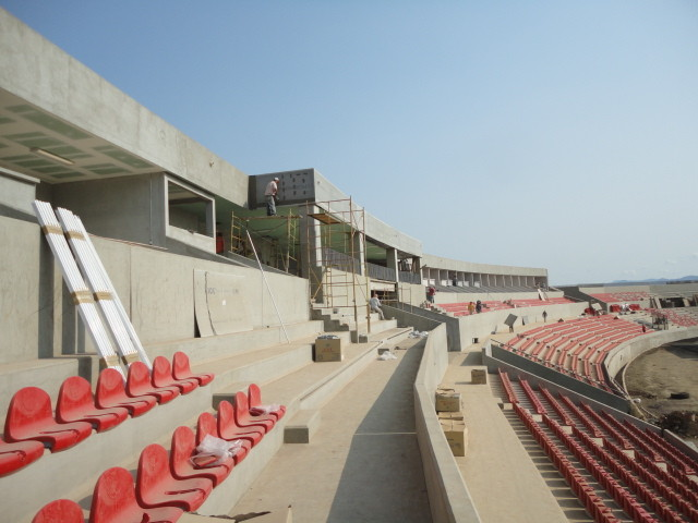 Estadio Tepic Arena CORA 2011 Gradas