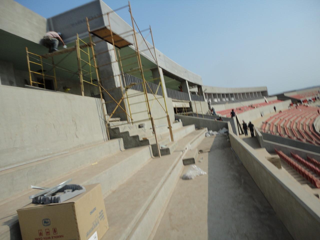 Gradas Estadio Tepic Arena CORA 2011