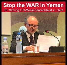 Mathias Tretschog - Freier Journalist, Menschenrechts- und Friedensaktivist, Gründer von Stop the WAR in Yemen