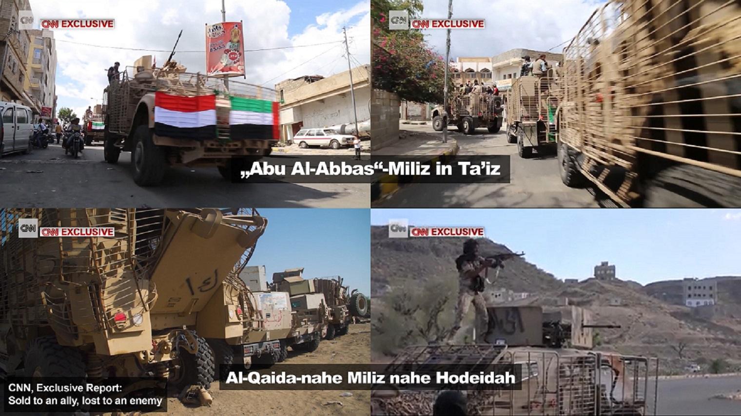 US-Militärgüter im Gebrauch von IS und Al-Qaida
