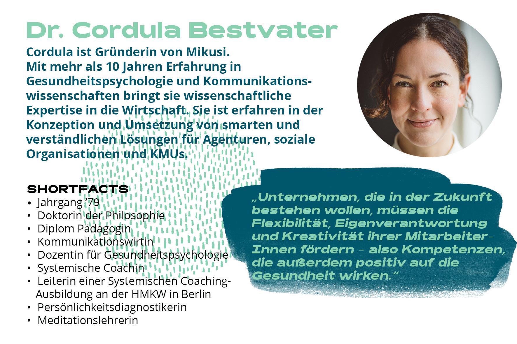Dr. Cordula Bestvater