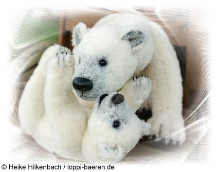 Arktis lebt mit seinem Jungen in Gelsenkirchen