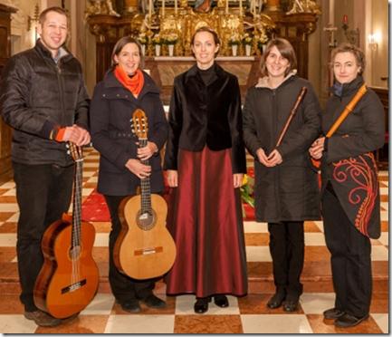 """Das Gitarreforum Krems lädt - als Auftakt zur Konzertsaison 2015 - zum Konzert mit dem """"Ensemble Quindolci"""". Foto: zVg"""