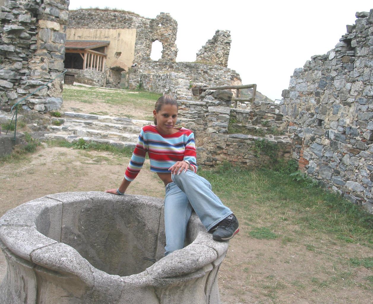 Auf der  Ruine Senftenberg entdeckte man den Schöpfschacht einer Sickerzisterne...
