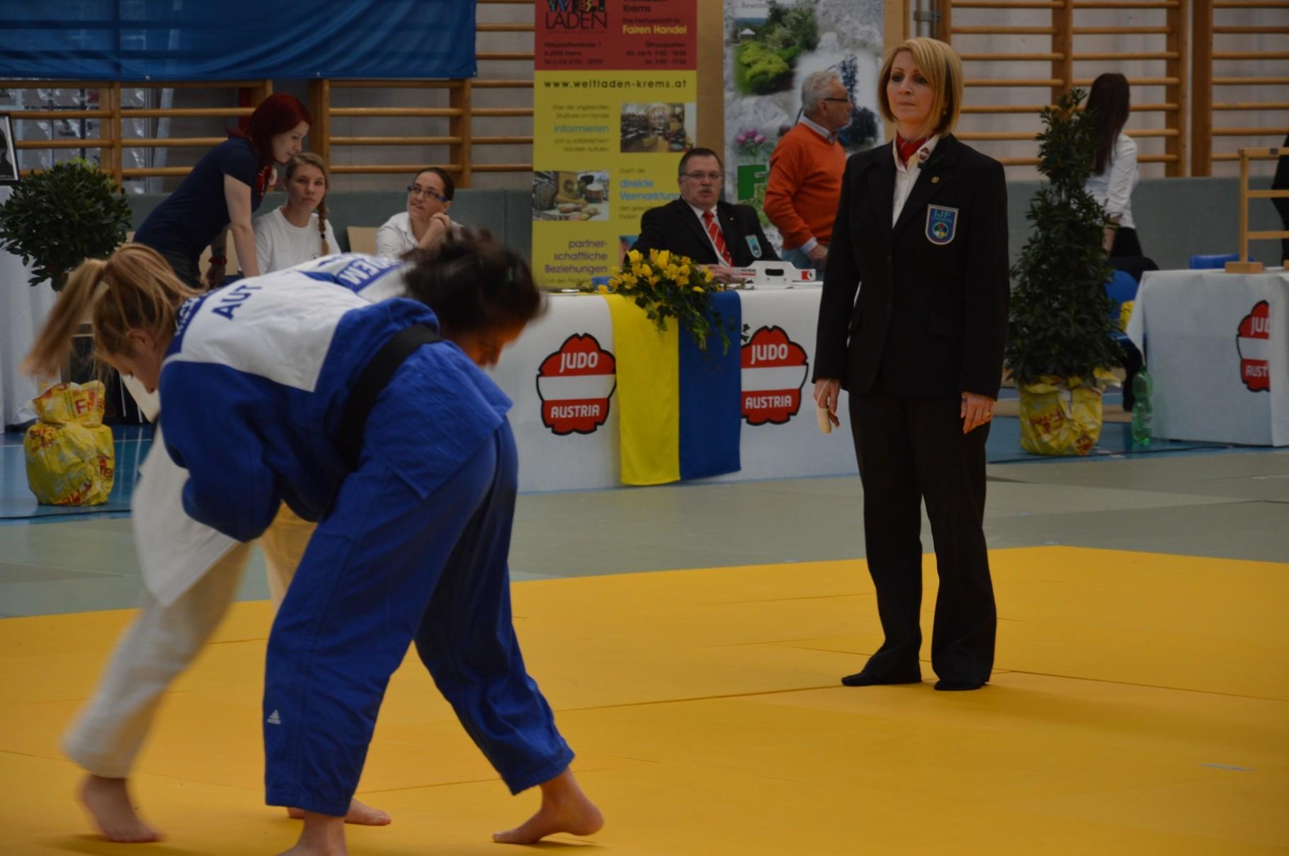 """Judo, """"die sanfte Kunst"""" ist auch bei jungen Damen """"in""""."""