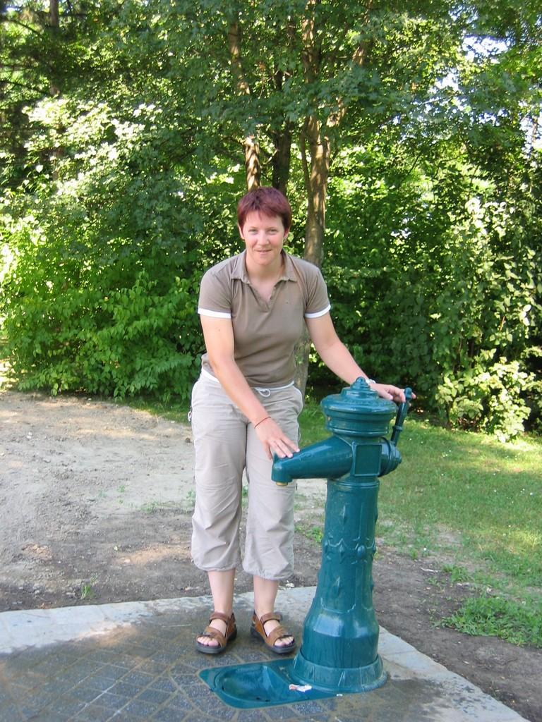 Mehrere Trinkbrunnen wurden auf Freizeitanlagen installiert, so in der Mitterau...
