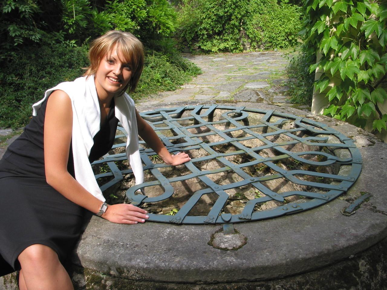 Ein Burgbrunnen findet sich auf der Verste Oberranna bei Mühldorf.