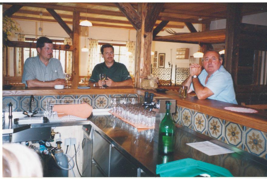 Unsere ersten Gäste 1999