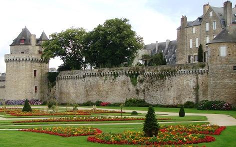 Die alte Stadtmauer um Vannes