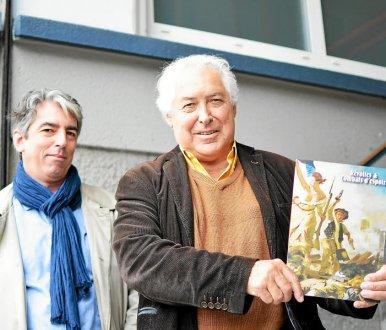 Avec Brieg Haslé-Le Gall © Le Télégramme