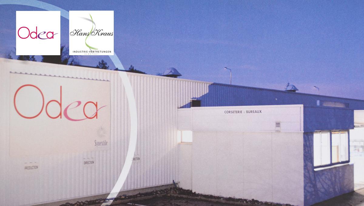 Odea Produktion Saint-Etienne, Frankreich, Hans Kraus Industrie-Vertretung