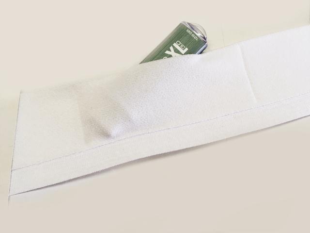 Taschenband mit Annähkante, für GPS Tracker, Schlüssel, Untensilien, Sport Tracker, Kondome, Sensoren, Magnete