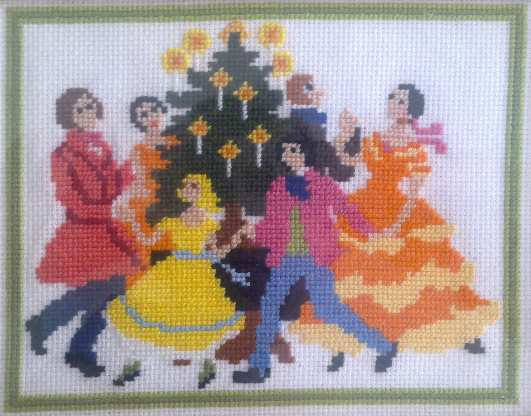 """Around the Christmas tree"" collection François Bizat"