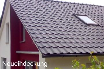 Dach-Neueindeckung SL - Holzbau Gbr Ochsenfurt