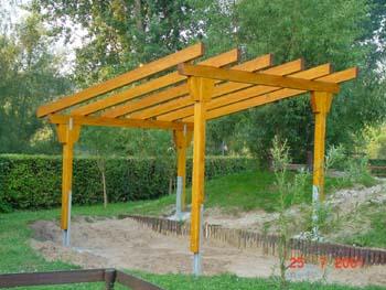 Individuelle Pergolen und schöne Pavillons bei SL Holzbau GbR in Ochsenfurt