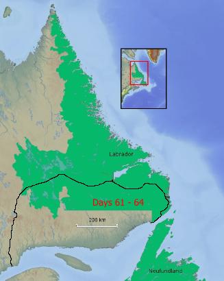 Route Labrador