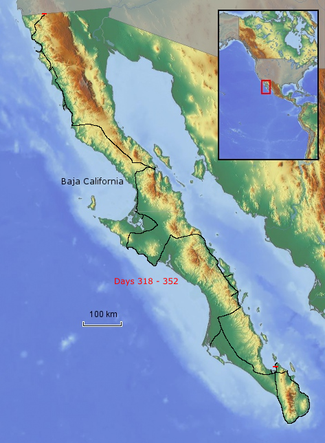 Route Baja California