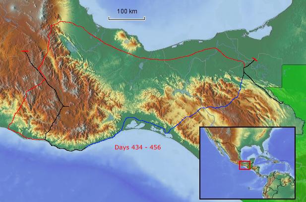 Route Oaxaca und Chiapas