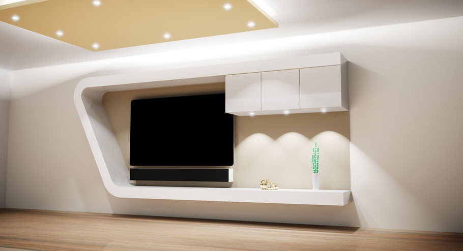 fernsehw nde sideboards tv m bel tv wall die tv wand aus schreinerhand. Black Bedroom Furniture Sets. Home Design Ideas