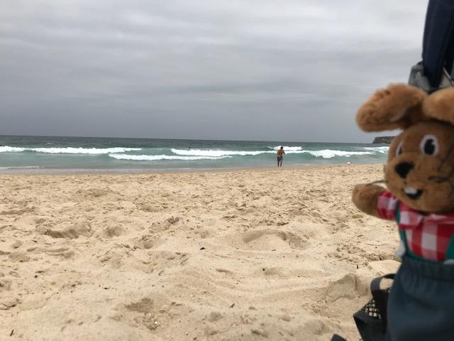 Endlich wieder am Tamarama Beach