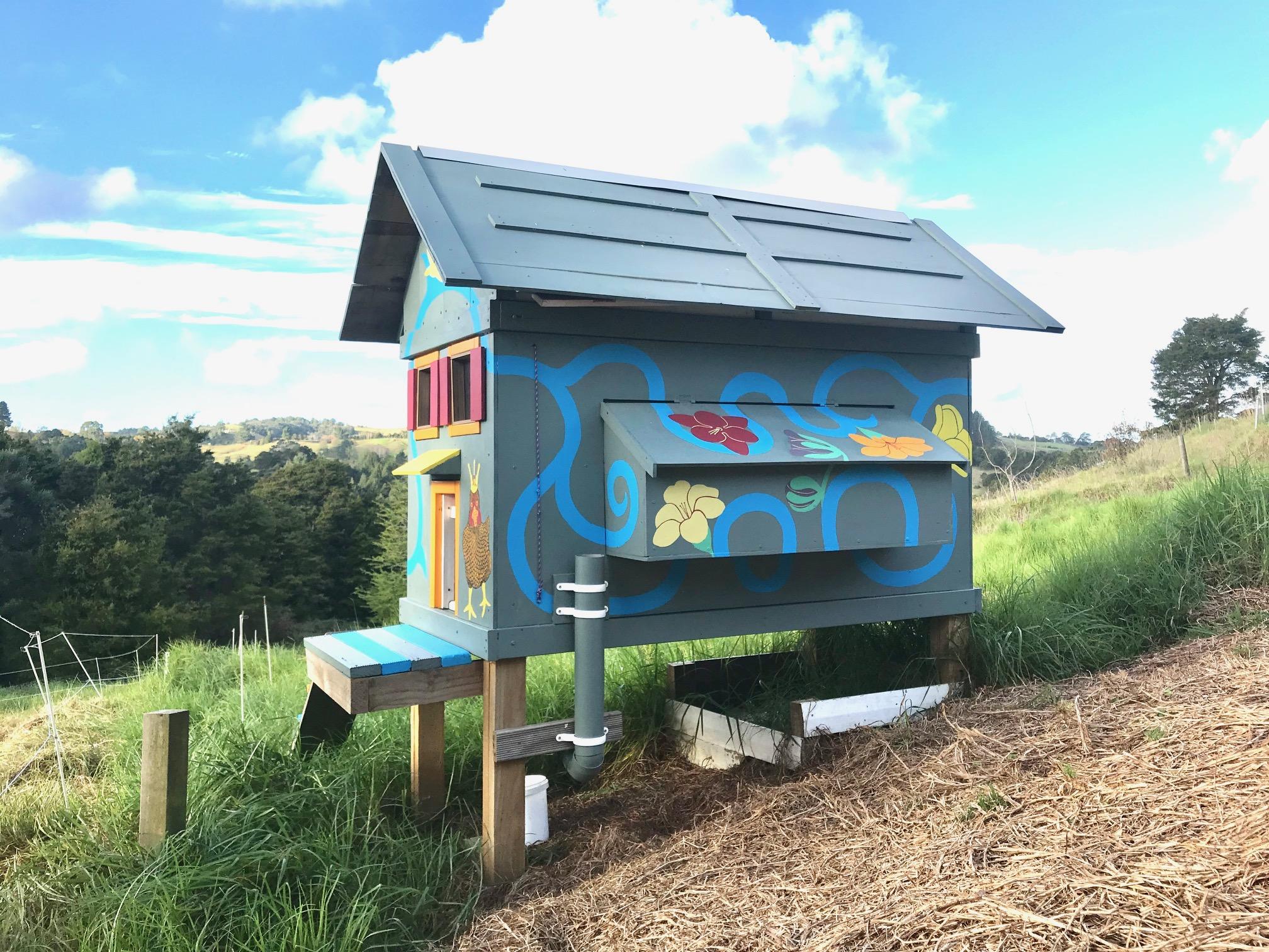 Das neue Hühnerhaus