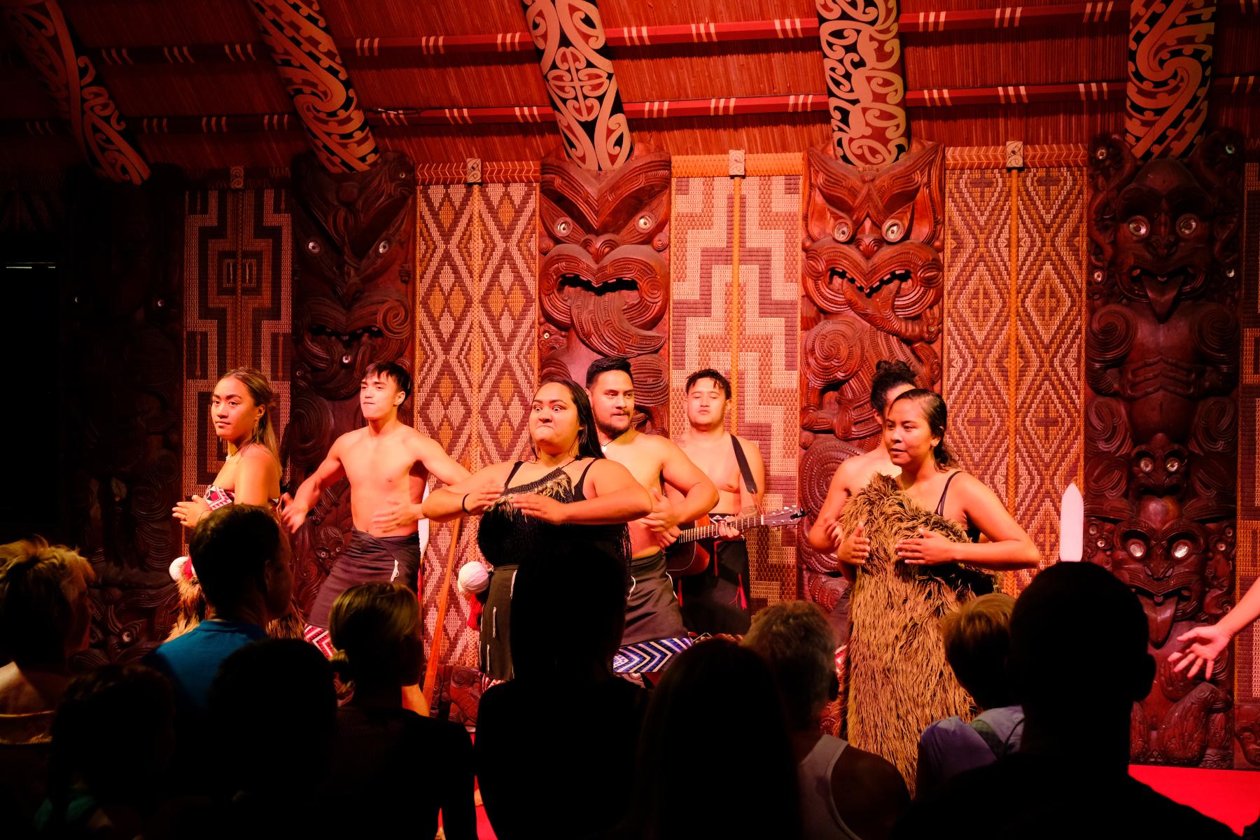Maori Zeremonie